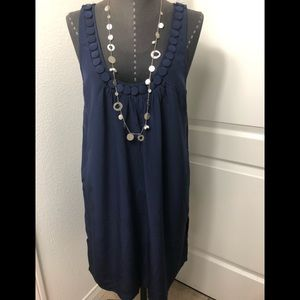 Joie Blue Silk Dress Women's Size Small